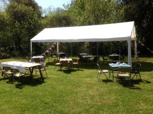 4m x 8m party tent