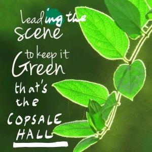copsale hall green poster